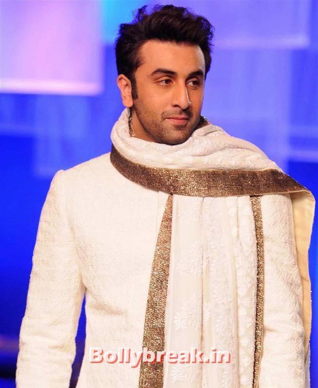 Ranbir Kapoor, Top Bollywood Celebs at Men For Mijwan Charity Fashion Show