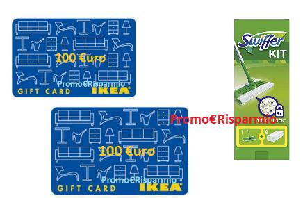 Promorisparmio Ikea Con Swiffer Puoi Vincere Una Carta Regalo Da