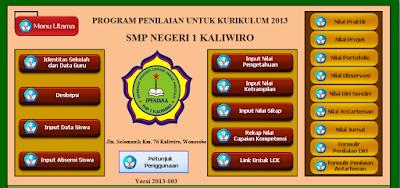 Download File : Aplikasi K13 Untuk SMP/MTS - Galeri Guru