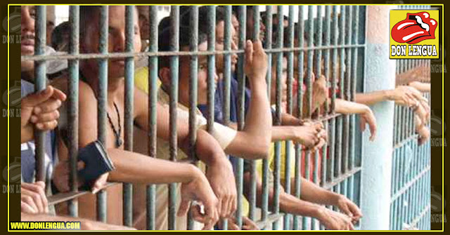 18 delincuentes cortaron los barrotes y se fugaron de San Juan de los Morros