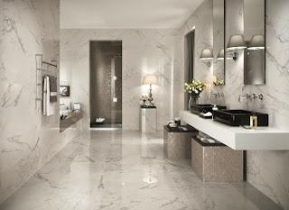 cuarto baño elegante