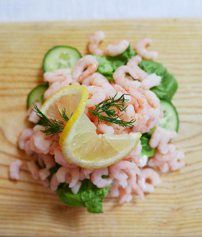 Krabbenbrot schwedisches Rezept