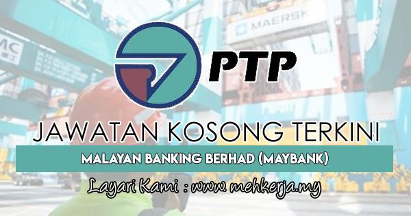 Jawatan Kosong Terkini 2018 di Pelabuhan Tanjung Pelepas Sdn Bhd (PTP)
