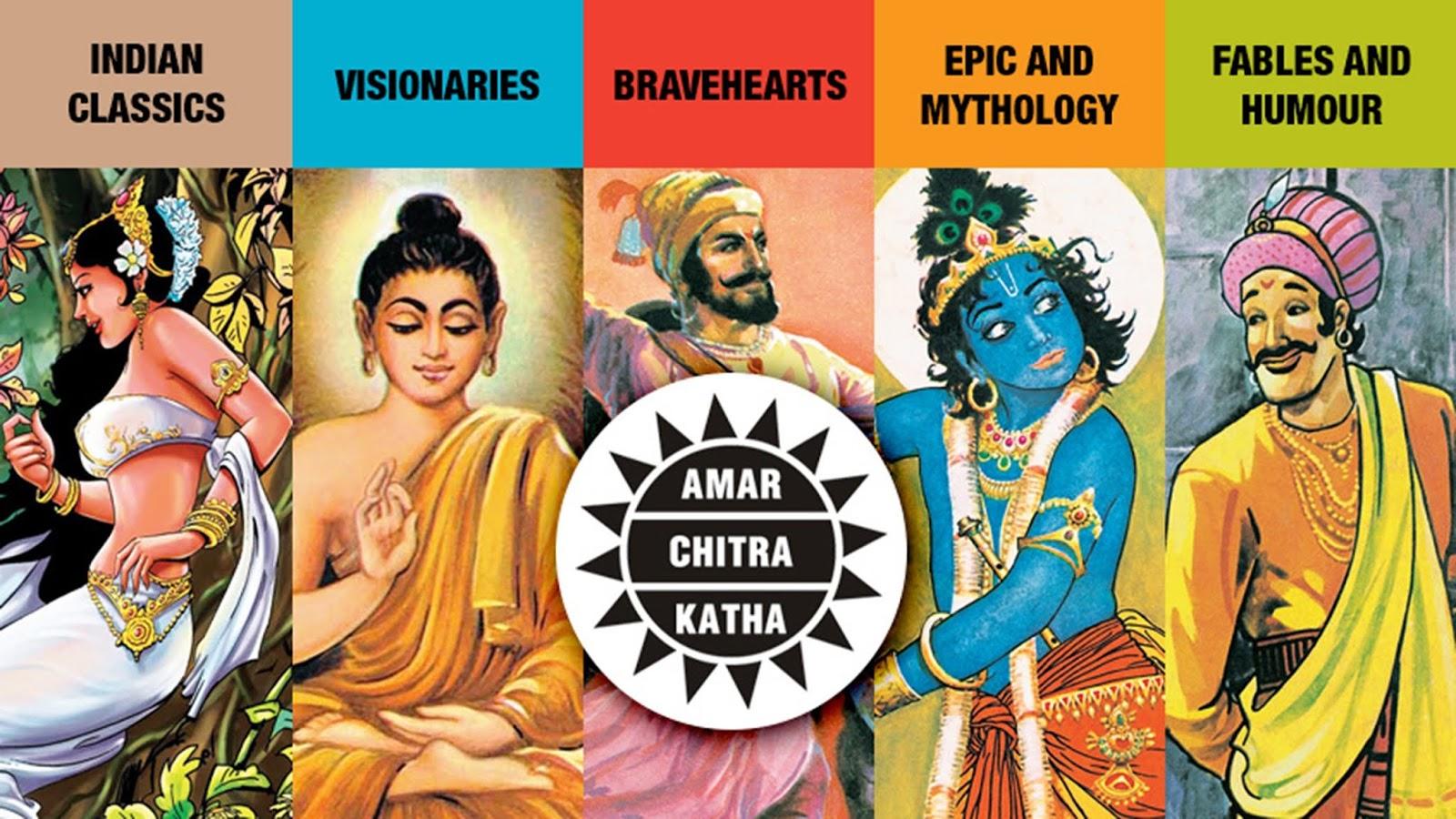 Free Download Hindi Comics Amar Chitra Katha