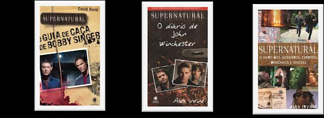 Promo: Kit 3 livros da série Supernatural #2AnosBurnBook 18