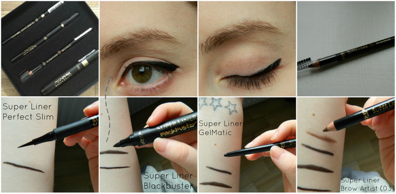 *Loreal Super Liners and Brow Artist