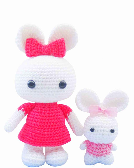 Lovely Crochet Toys: Amigurimi Creations from Khuc Cay's Little ... | 640x510