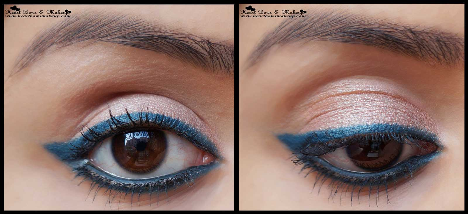 Lakme Eyeconic Green Kajal Review Swatches eyemakeup