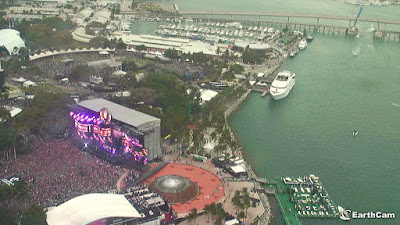 See Ultra Music Festival in Miami with Live Views from EarthCam