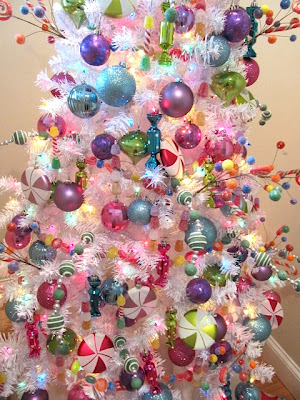 fake candy gumdrop garland i found at hobby lobby - Candy Christmas Decorations Hobby Lobby