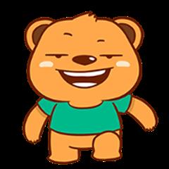 Sneaky Brown Bear