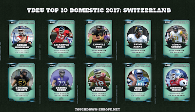 TDEU Top 10 Domestic 2017: SWITZERLAND