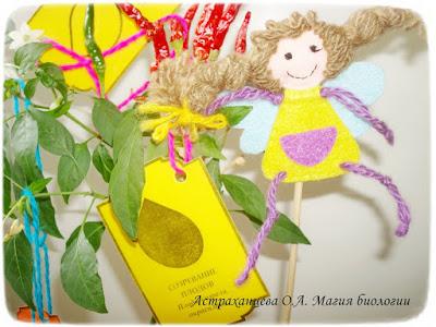 пальчиковые игрушки, феечки, фетр,  фенофазы, игра, желтый