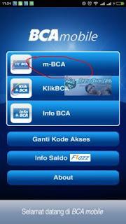Cara Mudah Transfer Uang dari BCA Mobile (m-BCA)