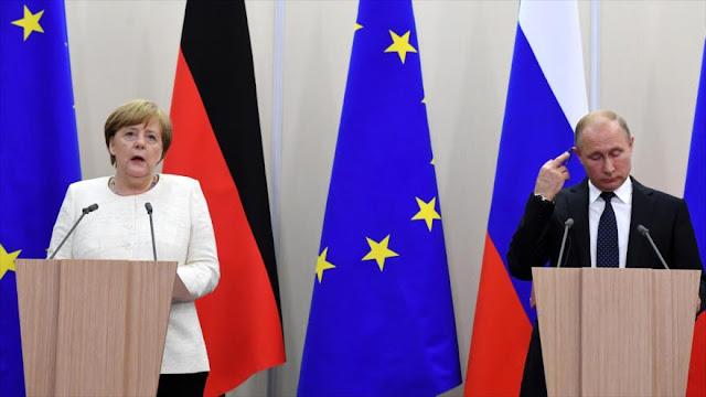 Merkel defiende el acuerdo nuclear con Irán tras salida de EEUU