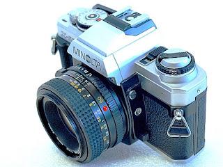 Minolta X-500, Right oblique