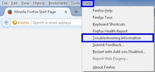 Cara Merestart Mozila Firefox Ke Pengaturan Awal
