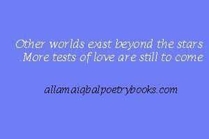 Ahead Of The Stars - Allama Iqbal Poem in English and Urdu