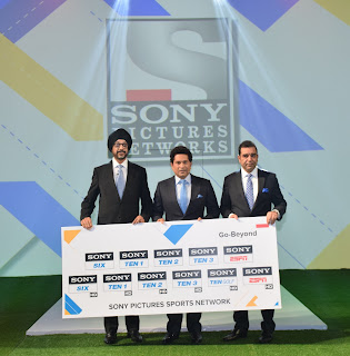 L to R NP Singh, CEO, SPN, Sachin Tendulkar, SPN's Ambassador for Sports...