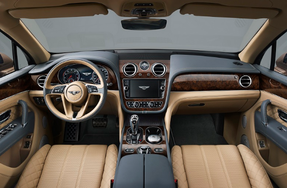 2017 Bentley Bentayga SUV Interior