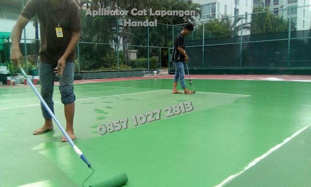 Pengecatan Lapangan Tenis