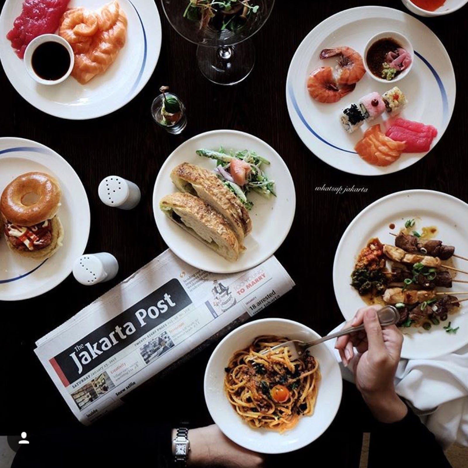 Whatsup Jakarta Buffet Galore At Asia Restaurant Ritz Carlton Voucher Makan Hotel Resto The Mega Kuningan