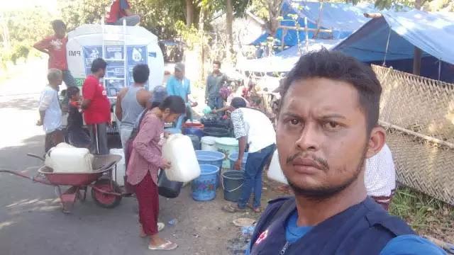 Innalillahi, Relawan Gempa Lombok  Meninggal Dunia Saat Tugas! Berikut Fakta-Fakta Kejadian