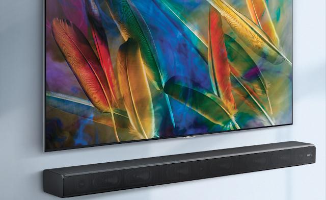 Samsung HW-MS650-ZA Sound+ Bar Test Sound Review
