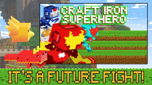 Craft Iron Clash Super Hero v1.22 - Mod Apk Free Download