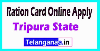 How to Apply Ration Card Online in Tripura State