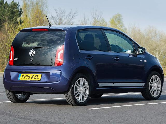 Volkswagen Up! 2016 - melhor carro de acesso da Inglaterra