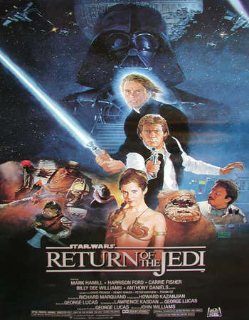 Star Wars: Episode VI - Return of the Jedi 1983 Hindi Dual Audio BRRip Full Movie Download