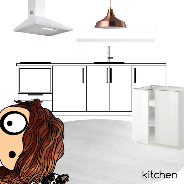 ilustración | illustration foltys vs the interior designer - kitchen planning