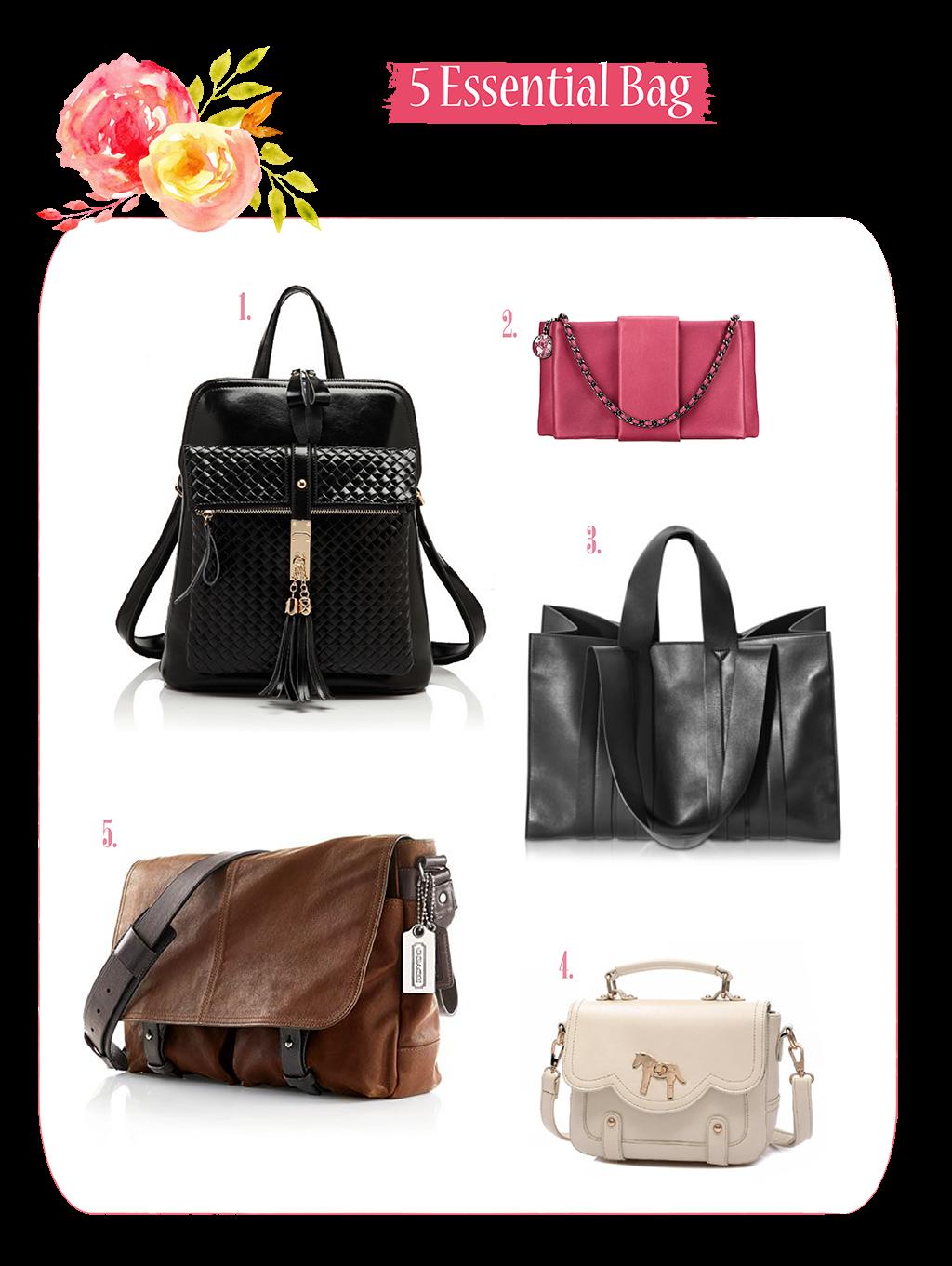5 Essential Bag For Every Women
