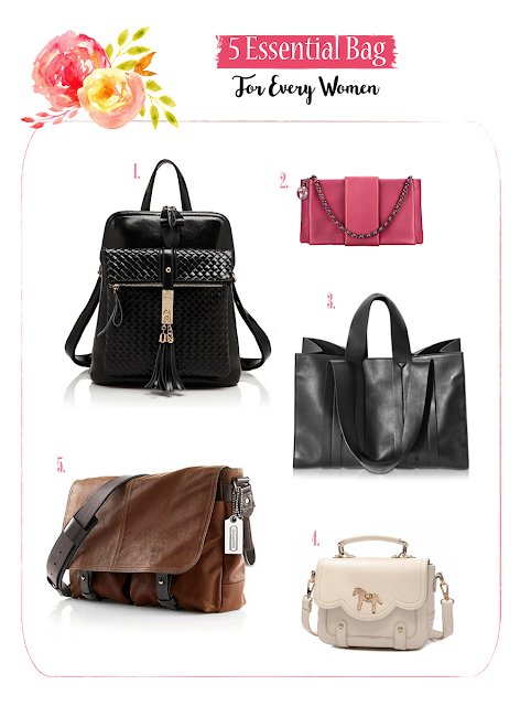 5 Essential Bag For Every Women