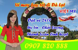 Vé máy bay tết 2016 đi Đà Lạt