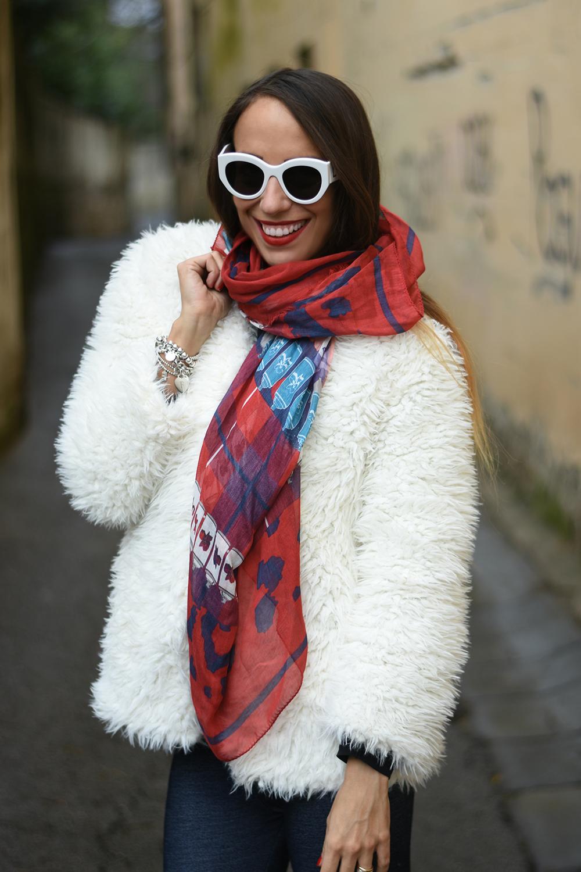 cappotto teddy bear bianco