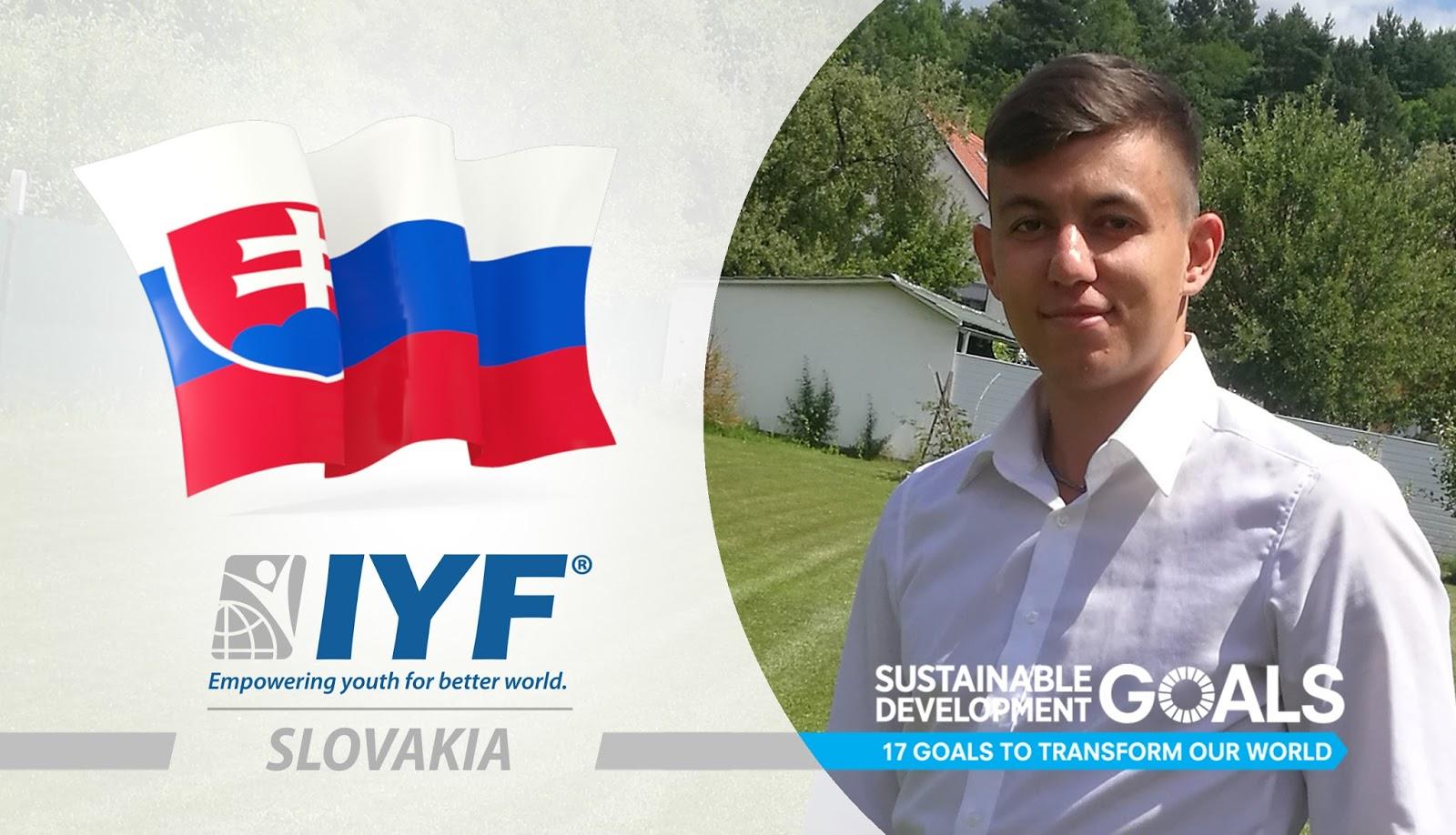 Ján Borko, IYF Representative in Slovakia