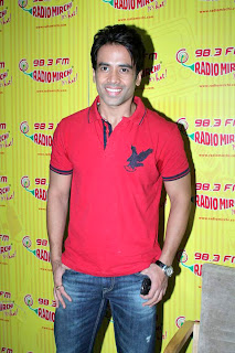 Tusshar Kapoor & Riteish Deshmukh at 98.3 FM Radio Mirchi for promotion of movie 'Kyaa Super Kool Hain Hum'