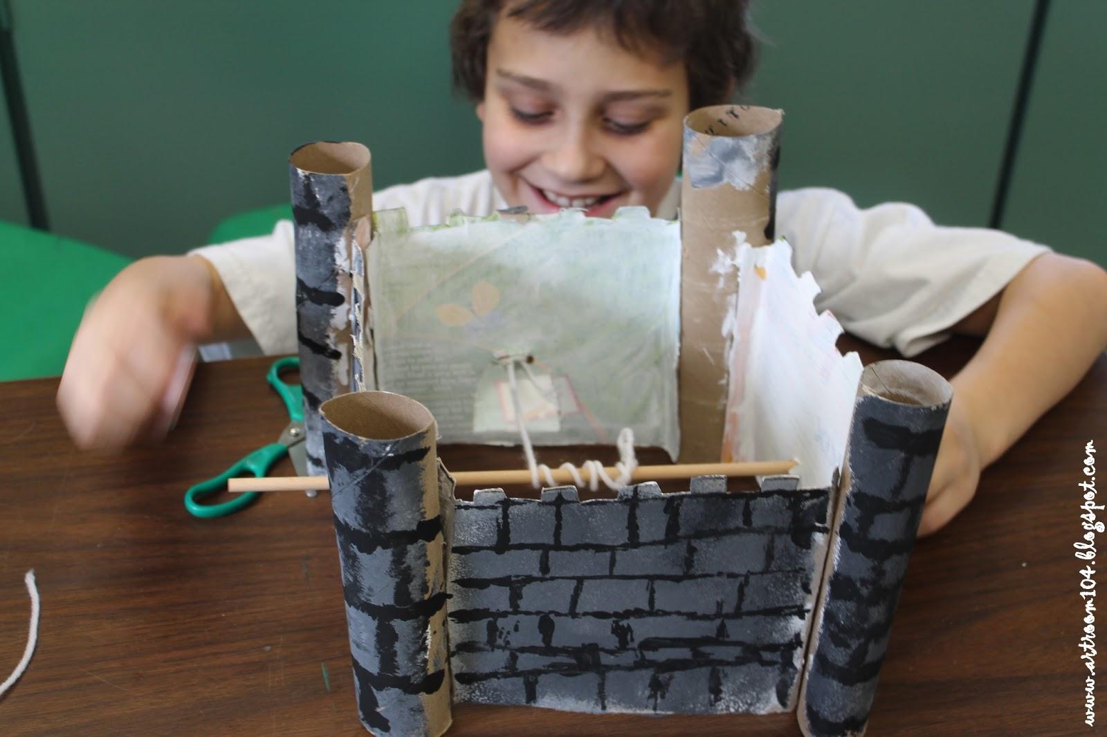 Art Room 104 3rd Grade Castles Amp Science Simple Machine