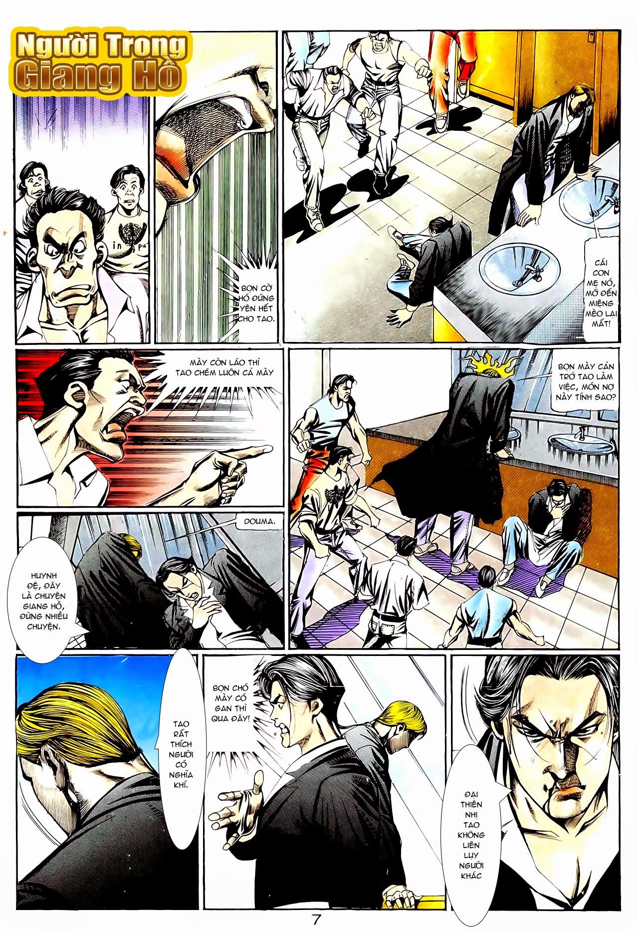 Người Trong Giang Hồ chapter 95: tình kiêu trang 18