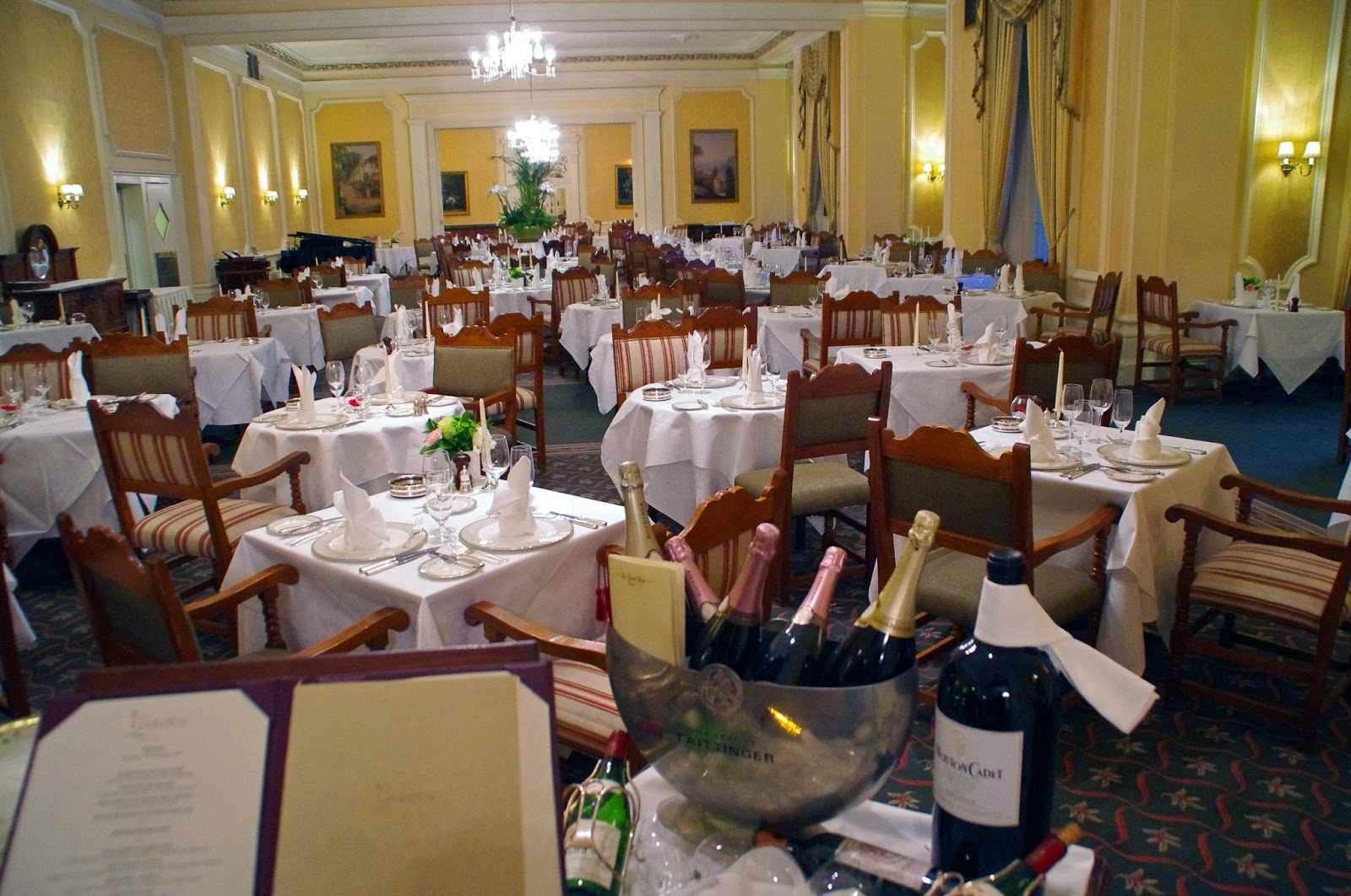 The Grand Hotel Eastbourne Garden Restaurant