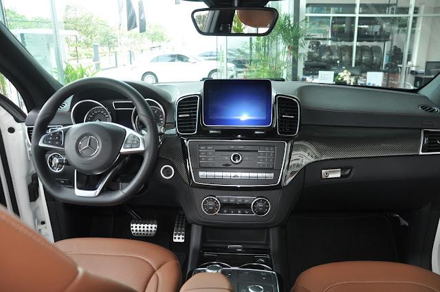 Mercedes AMG GLE 43 4MATIC Coupe luôn toát lên vẻ quý tộc