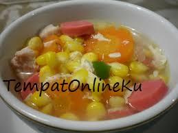 sop jagung manis