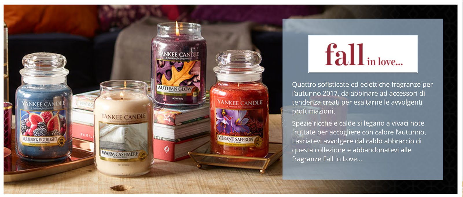 yankee candle fall in love opinioni