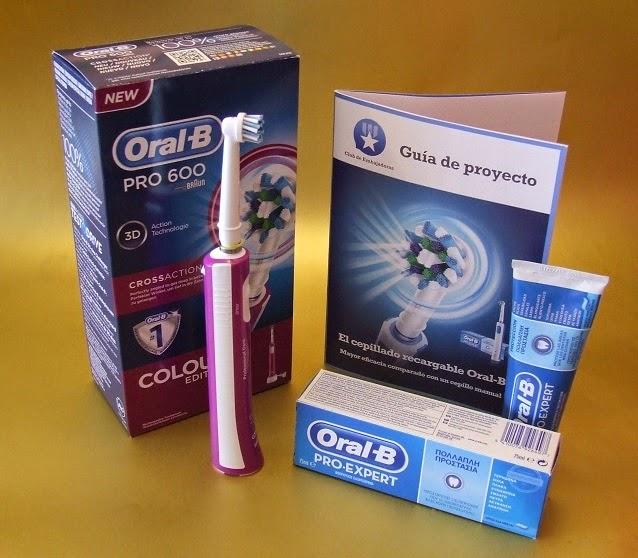 El cepillo recargable ORAL-B – el nuevo proyecto del Club de Embajadoras de  PRÓXIMA A TI dd9891a54dac