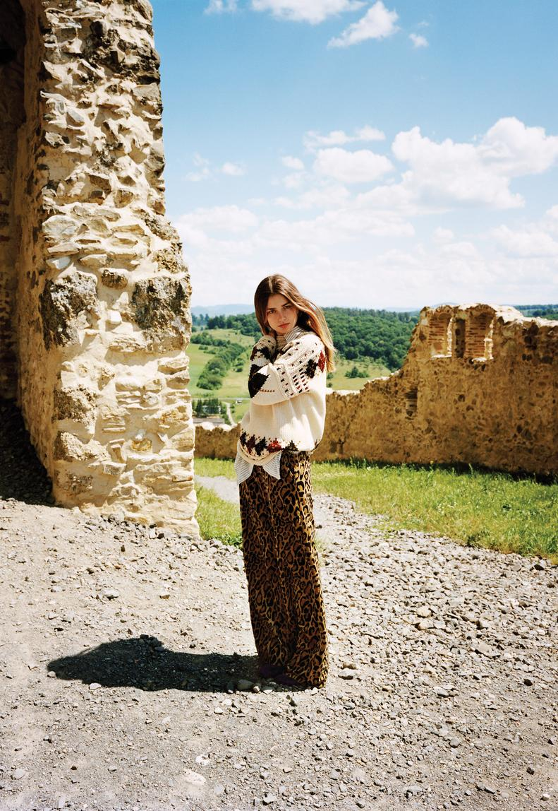 Andreea Diaconu's Romanian Holiday for WSJ Magazine August 2016