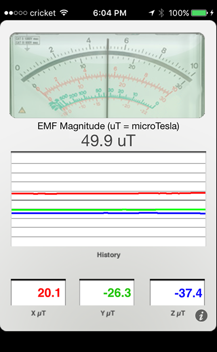 Wild Magnetic Flux Changes - Heart and Blood Effects Possible. Magnetometer