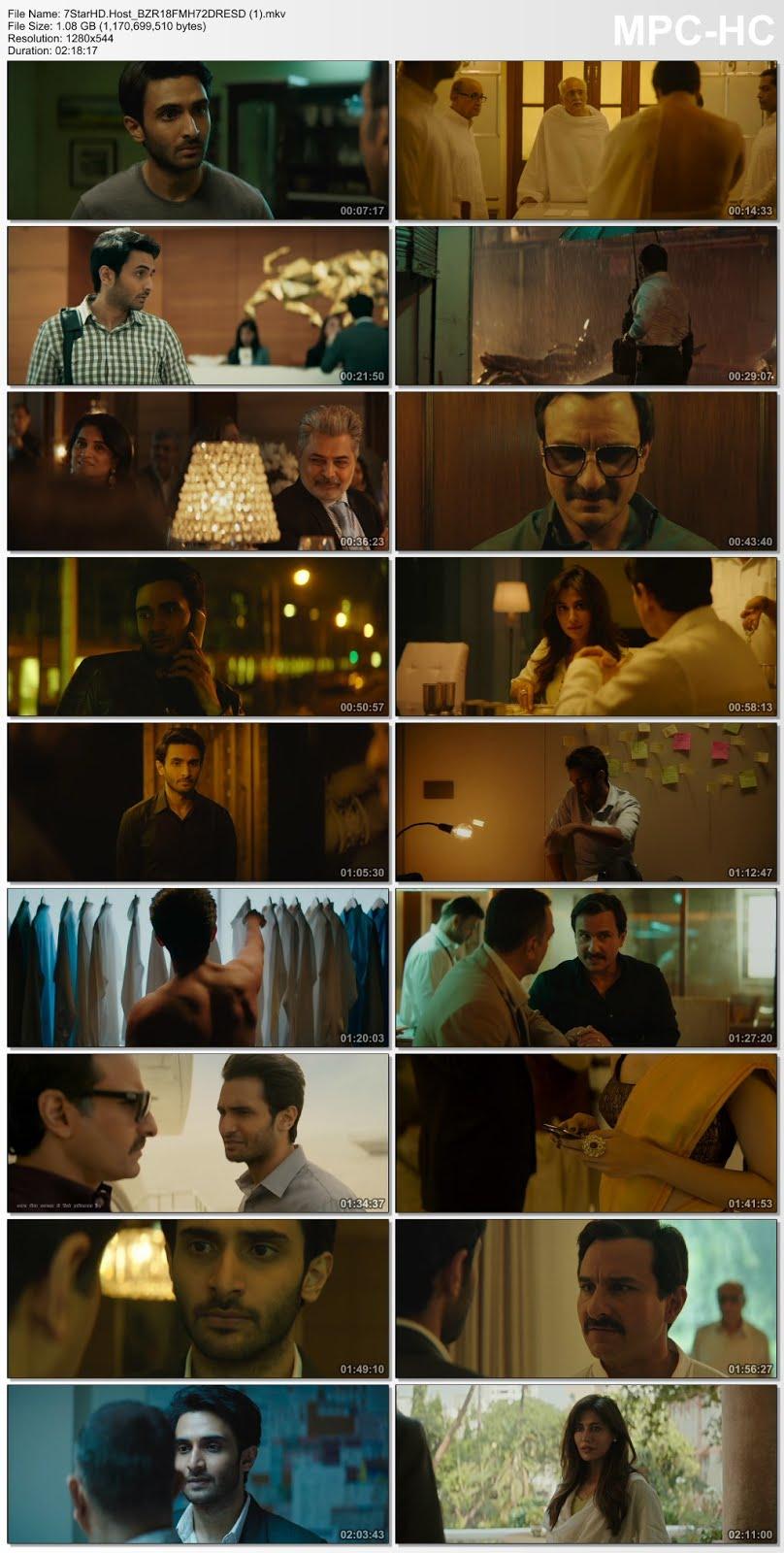 Baazaar (2018) Hindi Full Movie 350MB DVDRip 480p x264 ESubs Download