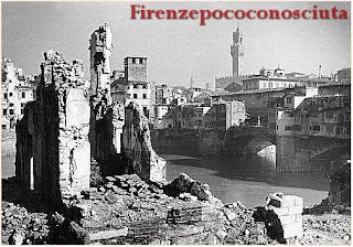 Borgo San Jacopo Bombed During WWII - Florence, Italy